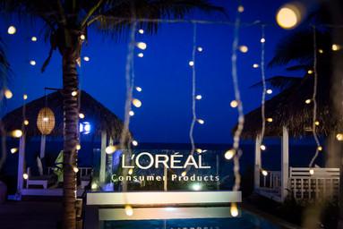 L-Oreal - Branding decoration Service in Danang
