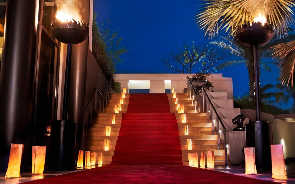 red carpet + paper bags.jpg