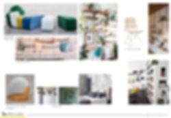 planche mobilier deco boheme