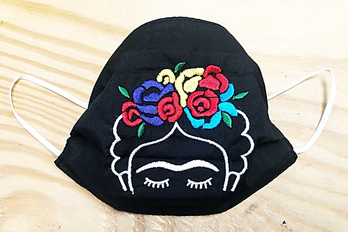 Frida Embroidered Face Masks - Free Shipping