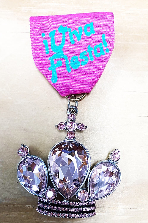 Fiesta Crown Medals - Free Shipping