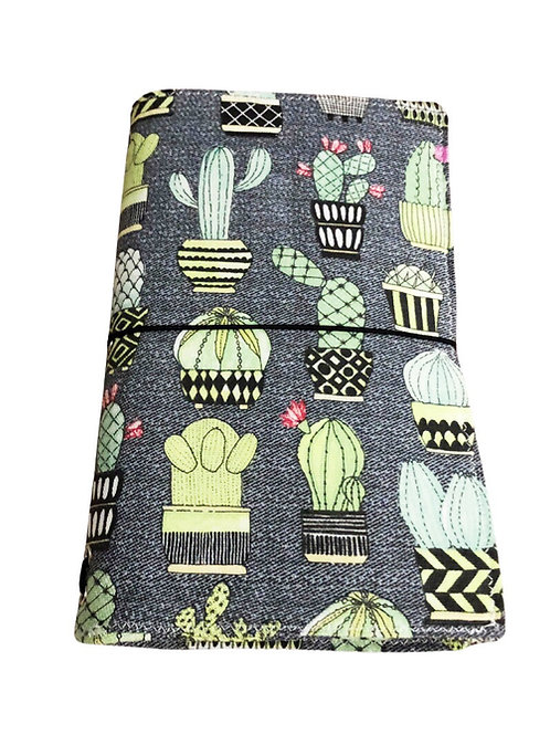 Cactus Fabric Journal  - Free Shipping