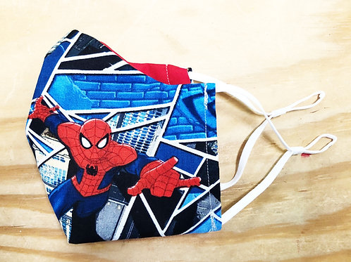 Spider-Man Face Mask With Filter Pocket - Free Shipping
