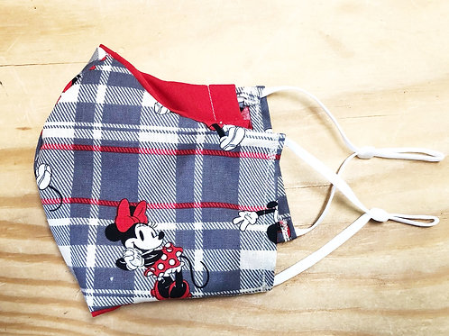 Minnie & Mikey Face Mask With Filter Pocket - Free Shipping