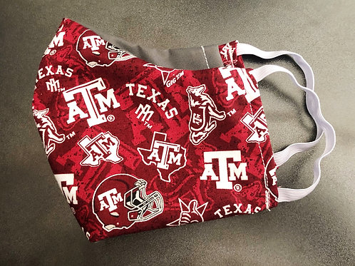 Face Mask With Filter Pocket (A&M) - Free Shipping