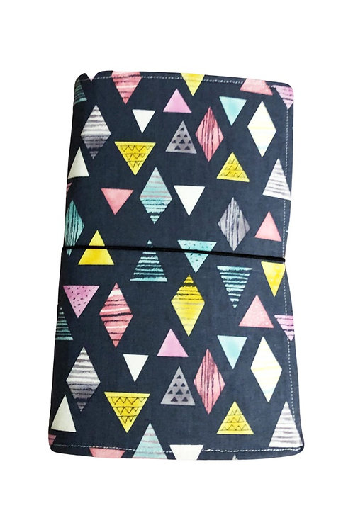 Triangle Fabric Journal  - Free Shipping