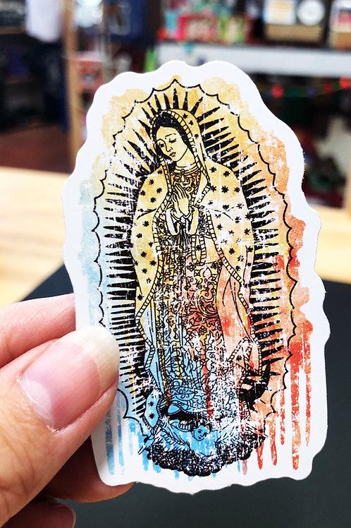 Virgen de Guadalupe Sticker Decal
