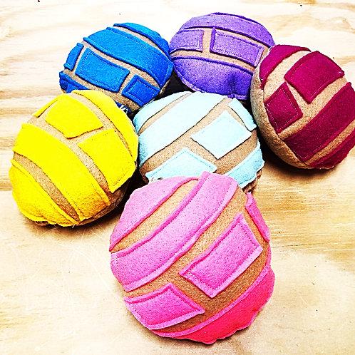 Concha Sweet Bread Purse Charms, Ornaments