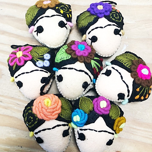 Frida Ornaments / Purse Charms - Free Shipping