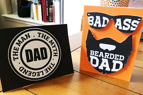 Dad Legend Greeting Cards