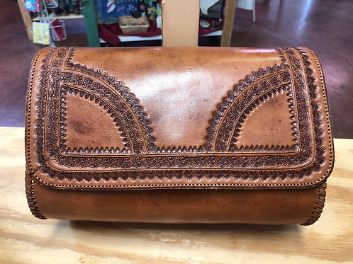 Leather Crossbody Rectangular Purse