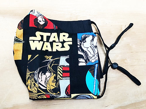 Star Wars Face Mask With Filter Pocket - Free Shipping