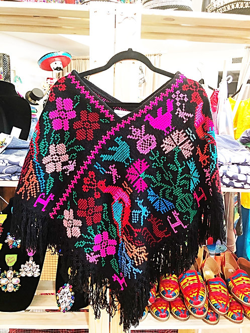 Beautiful Mexican Ponch - Free Shipping