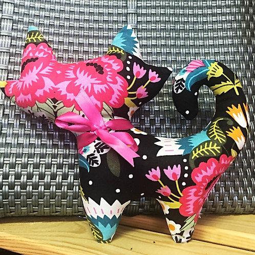 Kittie Plushie - Floral