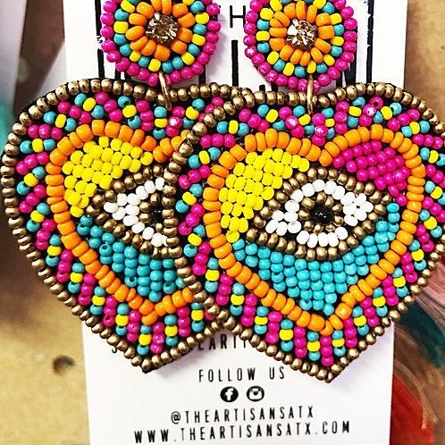 Eye Earrings - Free Shipping