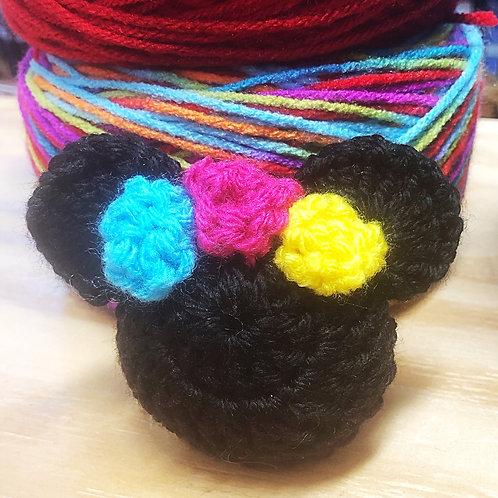 Fiesta Minnie Purse Charm/Keychain