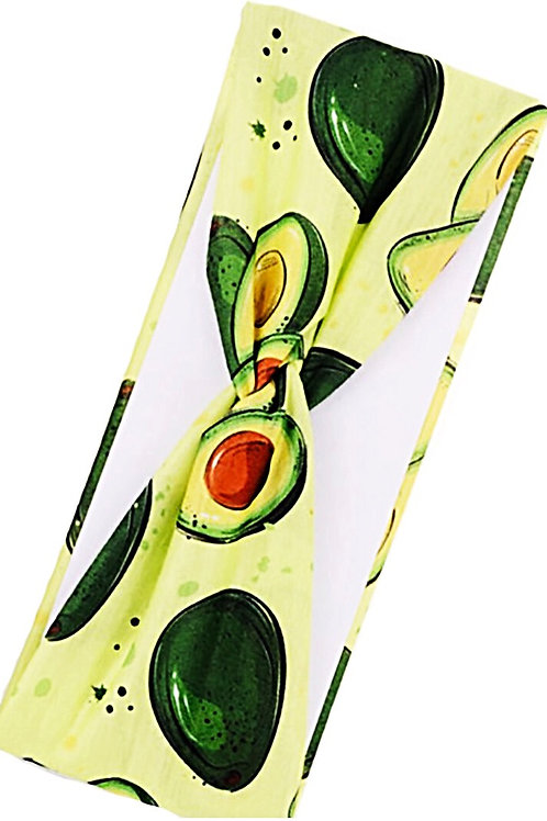 Avocado Headbands/Headwraps - Free Shipping