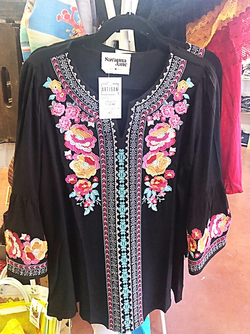 Embroidered Tunic - Free Shipping