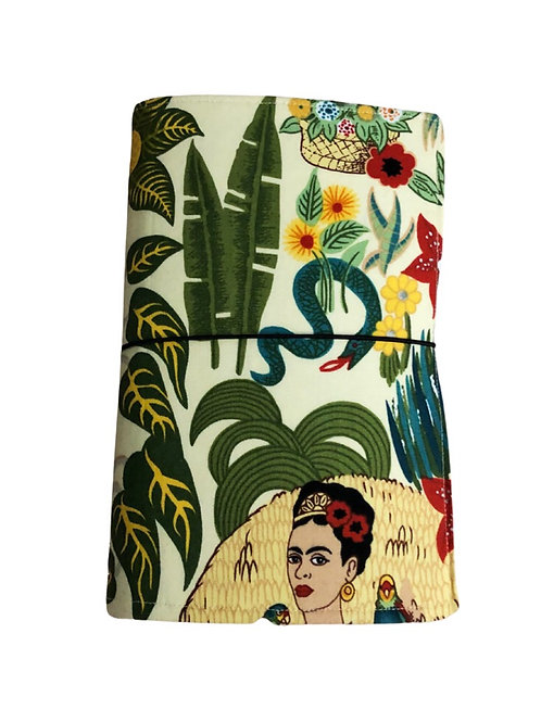 Frida Floral Fabric Journal  - Free Shipping
