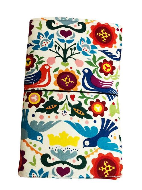 Otomi Fabric Journal  - Free Shipping