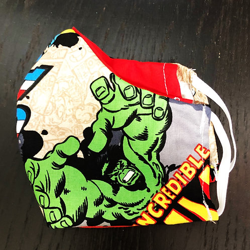 Avengers Face Mask With Filter Pocket  - Free Shipping