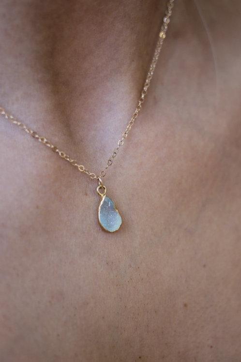 Rosie Necklace - Aquamarine