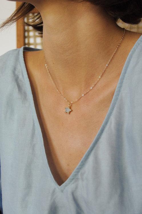 Star Druzy Necklace