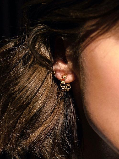 Amie Hoop Earring