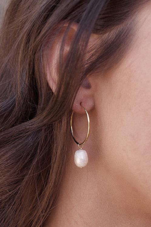 Bree Hoop Earrings