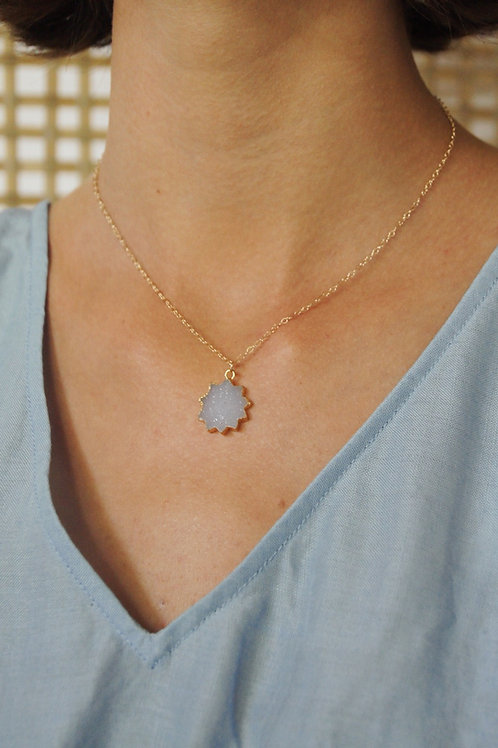 Sol Necklace - Aquamarine