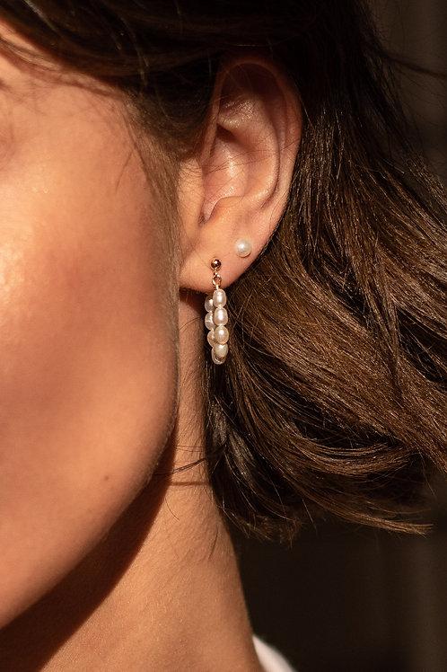 Elena Pearl Earring
