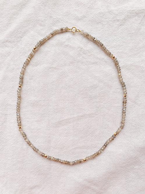 Aster Necklace - Labradorite