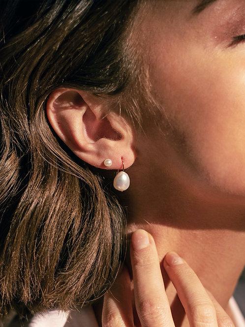 Eva Earrings - Gold Post /Silver Post