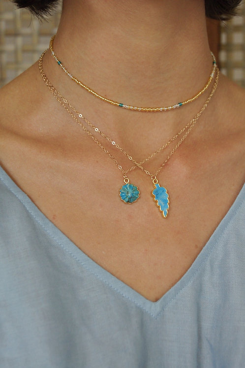 Rosa Turquoise Necklace