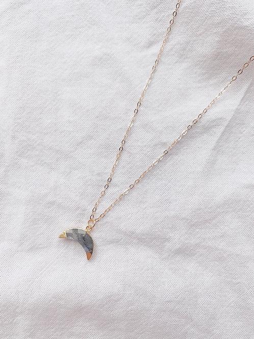 Ariel Necklace - Labradorite