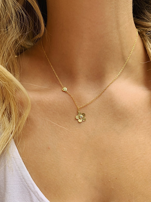 Flora Necklace - Gold