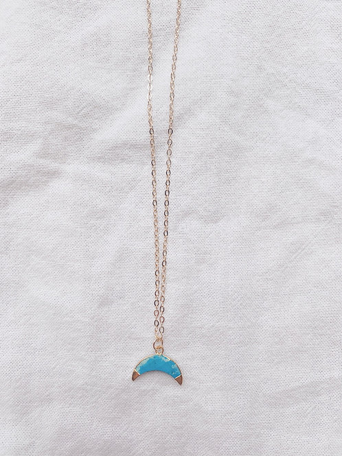 Ariel Necklace - Turquoise