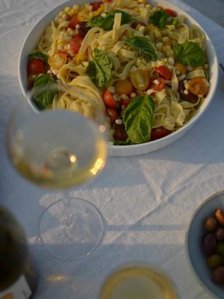 Summer Corn + Tomato Salad