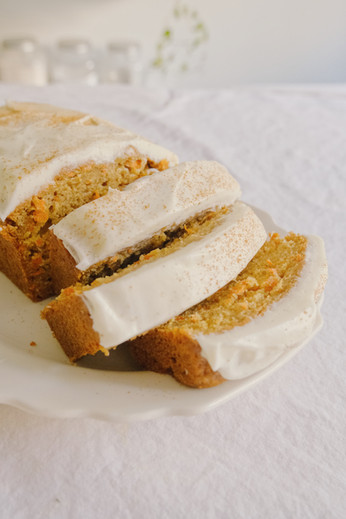 Chai Carrot Loaf