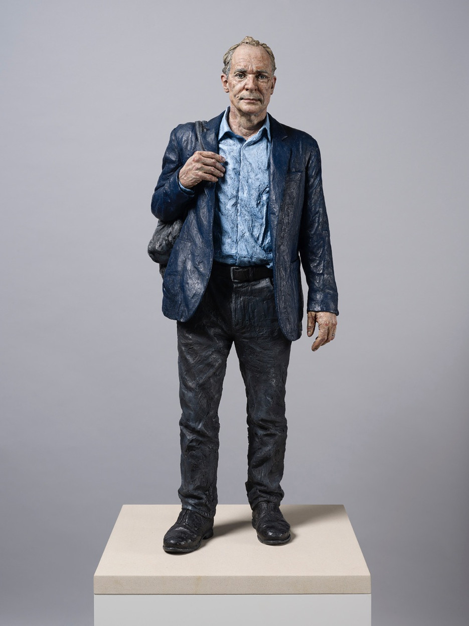 Sean Henry's new sculpture into the permanent collection of the National Portrait Gallery museum