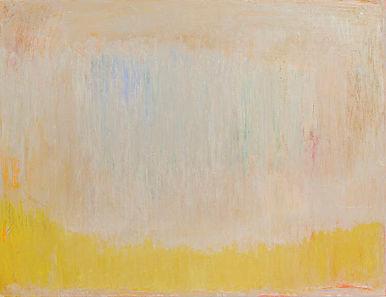 Cloud, Castle, Lake, 2020 oil on canvas,