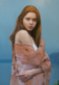 Untitled_ Sonya 54x80 inches, oil on can