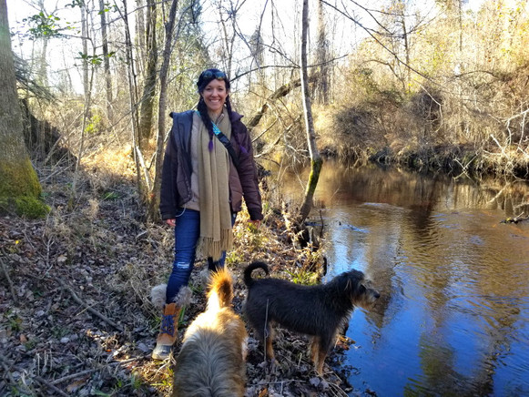 West Prong Acres Amy with dogs.jpg