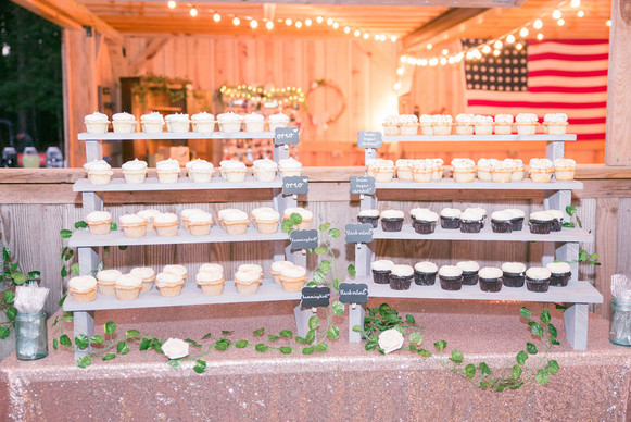 Cupecake stand with Happy Cake cupcakes.jpg