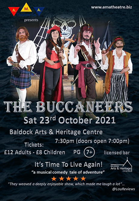 The Buccaneers Poster BAHC A4.png