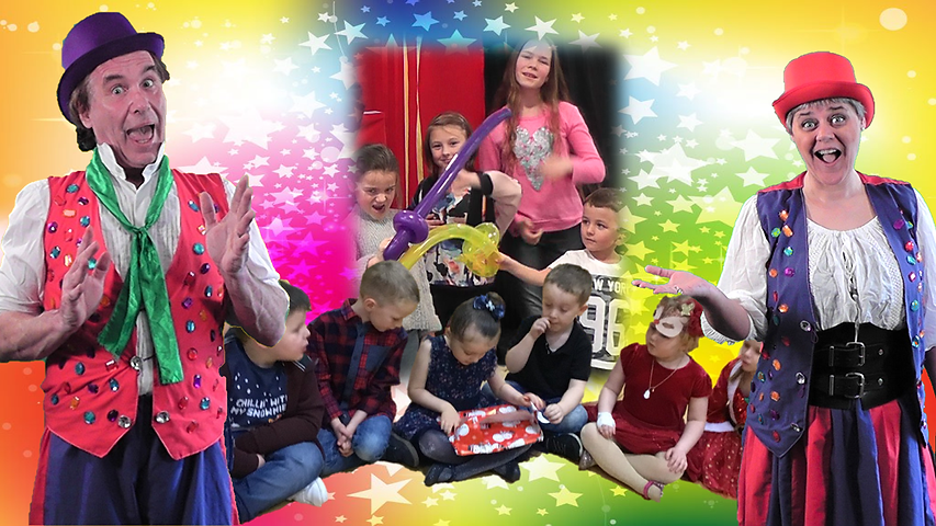 Children's Parties with Dromeo & Tilly