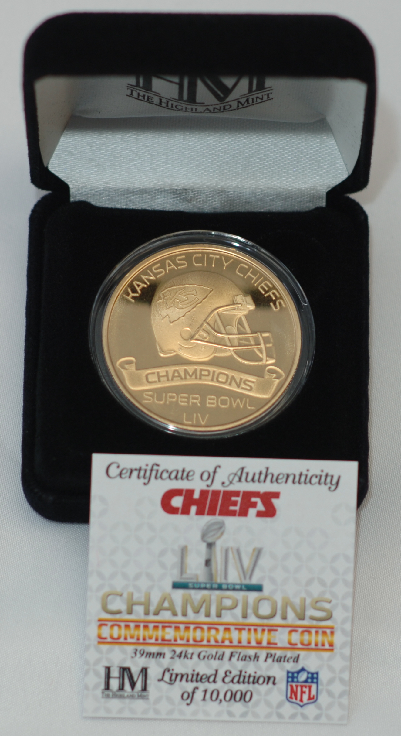 Super Bowl 54 Coin