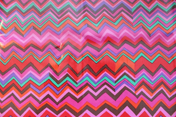 Pink Tones Chevron