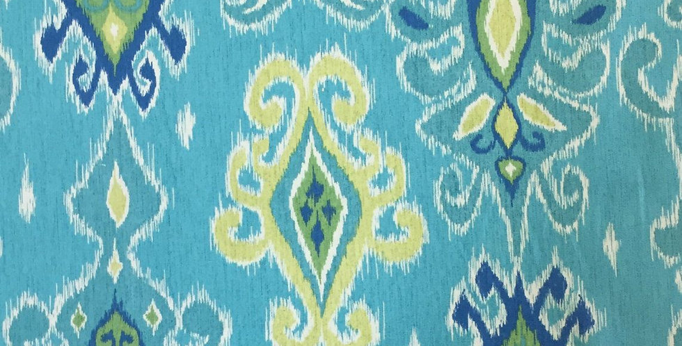 Turquoise Ikat - Siam