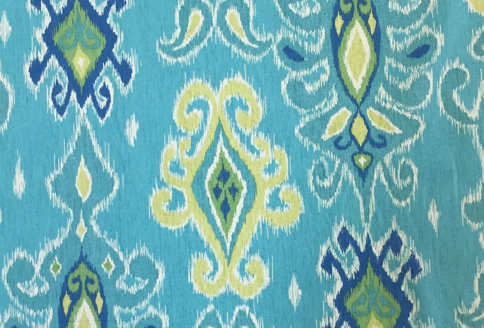 Turquoise Ikat - Siam